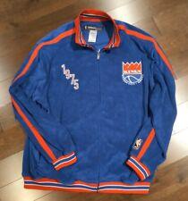 Reebok Hardwood Classics 1975 Kansas City Kings Long Sleeve Full Zip Sz XL NBA