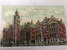 High School. Akron Ohio Oh O Postcard