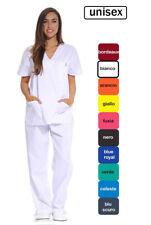 Divise Complete Da Lavoro medico infermiera oss sanitario estetista UNISEX