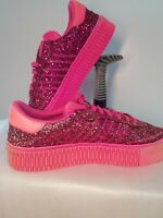 Adidas Women/Ladies Trainers/Shoes Pink Glitters Sneakers UK 7/40.5 RRP£90 VGC