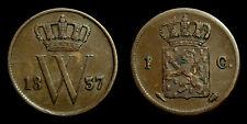 Netherlands - Cent 1837 Zeer Fraai-