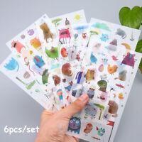 poesiealbum handy - dekor cartoon - aufkleber tagebuch - label pvc - aufkleber