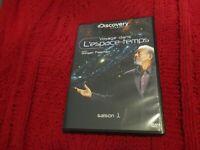 """COFFRET 2 DVD NEUF """"VOYAGE DANS L'ESPACE-TEMPS - SAISON 1"""" avec Morgan FREEMAN"""