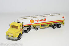 MAJORETTE SCANIA TANKER TRUCK WITH TANK TRAILER SHELL EXCELLENT