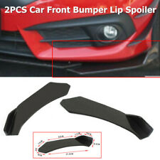 2PC Car Front Bumper Lip Body Kit Spoiler Fit for Audi BMW  Chevrolet Lexus Ford