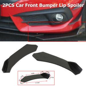 2PC Car Front Bumper Lip Body Kit Spoiler Fit for BMW  Chevrolet Lexus Ford