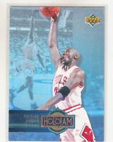 MICHAEL JORDAN 1993-94 Upper Deck Holojam Left #H4 Bulls Last Dance NM