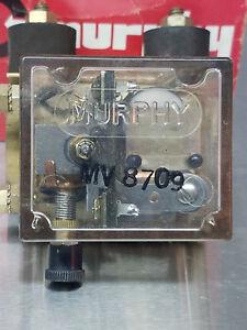 MV8709 MURPHY FUEL VALVE FOR ENGINE SHUT-DOWN, NOS, FOR DIESELS, FREE FREIGHT
