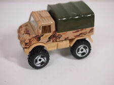 HOT WHEELS 1991 ISSUE MERCEDES BENZ UNIMOG #239 ARMY VERSION LOOSE