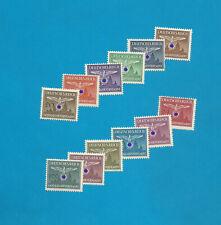 GG Dienstmarken   Nr. 25-36   komplett   **  !!