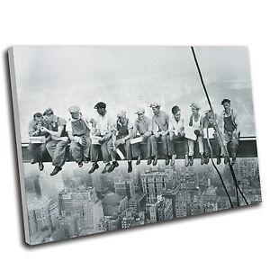 Lunch  Men On A Girder Canvas Print Premium Quality Gallery Grade