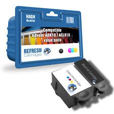 REFRESH CARTRIDGES VALUE PACK ABK10 & ACLR10 INK COMPATIBLE WITH ADVENT