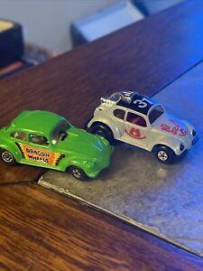 lot of 2 Lesney Matchbox 15 Hi Ho Silver & Dragon Wheels VW Bug lot of 2