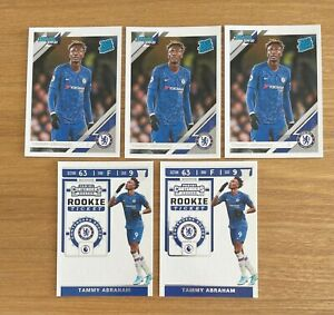 2019-20 CHRONICLES TAMMY ABRAHAM RATED ROOKIE CONTENDERS ROOKIE TICKET LOT
