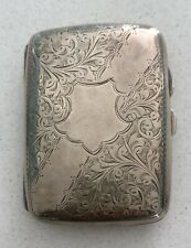 A Silver Hallmarked Cigarette Case * Which Is Inscribed And Dates 1954.