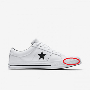 Converse Mens One Star 158464C Sneakers Regular White Size UK 12