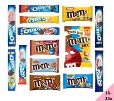 (16-24x)Oreo Sandwich Biscuits,M&M's Chocolate Treat