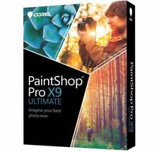 Corel PaintShop Pro X9 Ultimate DISC Retail version Windows ✔NEW✔Fast post