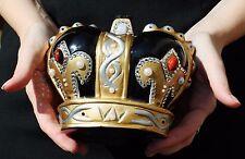 Timmy Woods SWAROVSKI CRYSTAL ROYAL CROWN KING Bag QUEEN PRINCESS Signed Handbag