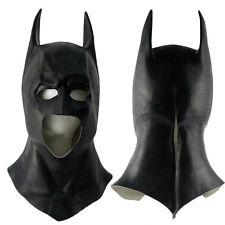 Batman Bruce Wayne Superhero Cosplay Mask Full Head Latex Props Helmet Halloween