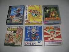 """Gameboy & Gameboy Color Mixed Lot x 6 In Box""""s And Complete All JPN Mixed format"""