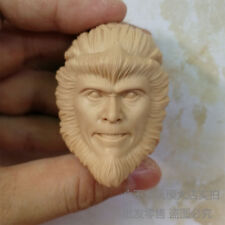 blank Hot 1/6 scale Head Sculpt A Chinese Odyssey Part One Monkey King Angry