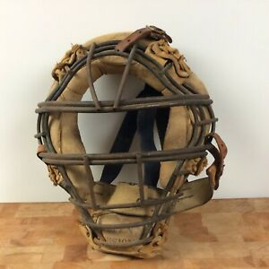 Vintage Rawlings Open Vision Metal Catchers Mask