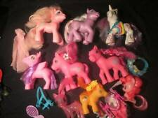"My Little Pony ~��~ Mixed Lot of Ponies 4-5"" Lot of 9 Ponies Accessories #"