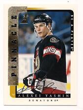 1996/7 Pinnacle Auto Alexei Yashin Ottawa Senators