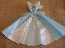 Barbie Mattel Princess Blue Cinderella Gown Dress Outfit