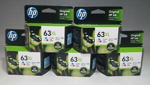 HP 63XL ink cartridge Color (increase) F6U63AA 5 set Tracking