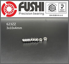 623ZZ Bearing 3x10x4 mm ABEC-5 (10PC) Miniature 623 Z ZZ Ball Bearings 623-2Z