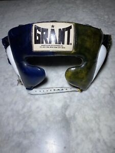 GRANT Boxing-Vintage Headgear-Used Condition-Authentic