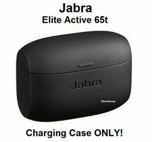 NEW Jabra Elite Active 65t Charging Case Genuine OEM Replacement Charger - BLACK