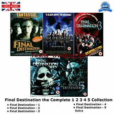 Final Destination 1-5 DVD Movie Collection Part 1 2 3 4 5 Film UK R2