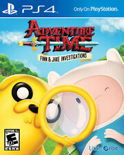 PLAYSTATION 4 ADVENTURE TIME FINN & JAKE  VIDEO GAME WITH CASE AND INSTRUCTIONS