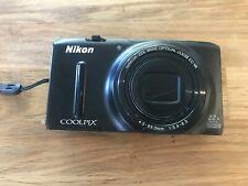 New listing Nikon Coolpix S9500 18.1Mp Digital Camera - Black