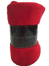 Warm & Cozy Super Soft Plush Fleece Throw Blanket