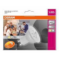 OSRAM LED se détendre & Active PAR16 RÉFLECTEUR 5W = 50W GU10 Blanc Chaud &