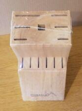 NIP NEW Pinnacle Cutlery Wooden 13 Position Knife Block Kitchen Storage