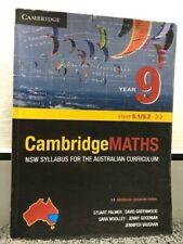 Cambridge Mathematics NSW Syllabus for the Australian Curriculum Year 9 5.1/5.2