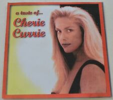 A Taste of Cherie Currie Exclusive 10 Track CD the Runaways Cherie's Ebay Store