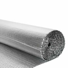 Vapour Barrier Thermal Insulation Double Aluminium Foil Membrane Home Wall Shed