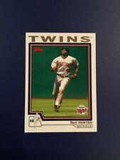 2004 Topps # 372 TORII HUNTER Minnesota Twins Baseball Card Sharp Look !