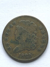 1825 Classic Head Half Cent - Low Mintage