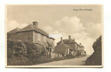Aldington, near Ashford - Forge Hill, houses - old Kent postcard