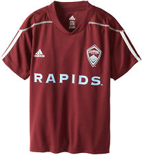 (Youth Boys XL 18) ADIDAS MLS Colorado Rapids Soccer Home Call Up Jersey