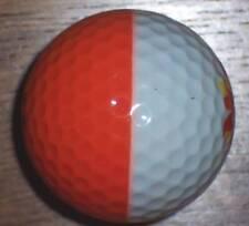 (1) Id#11 Ping White / Orange Logo Golf Ball 9.5/10