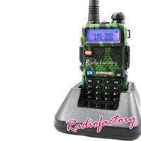 Walkie-Talkie BaoFeng Dual band UV-5R Camouflage VHF/UHF 136-174 400-480Mhz