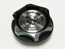TOYOTA SCION LOTUS MOBIL 1 SYNTHETIC BILLET GUNMETAL ENGINE OIL FILLER CAP